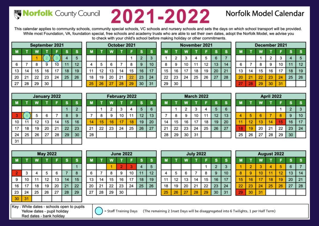 Federation Term Dates 2021 2022
